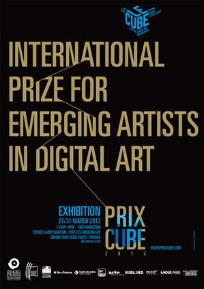Prix Cube 2013   Prix International jeune création en art numérique   Opinion et tendances numériques   Scoop.it
