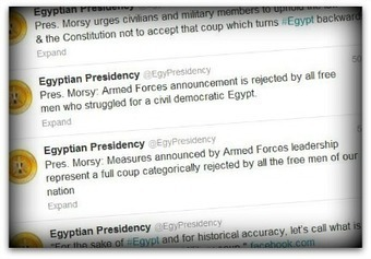 Egyptian president ousted; Twitter erupts   Communication Advisory   Scoop.it