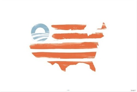 Obama Campaign Selling American Flag Print That Replaces 50 Stars With Campaign Logo | TheBlaze.com | Restore America | Scoop.it