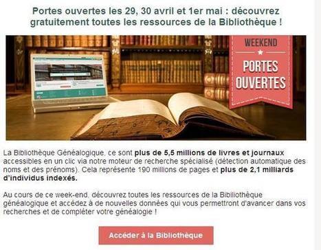 Portes ouvertes à la Bibliothèque Généalogique | Charentonneau | Scoop.it