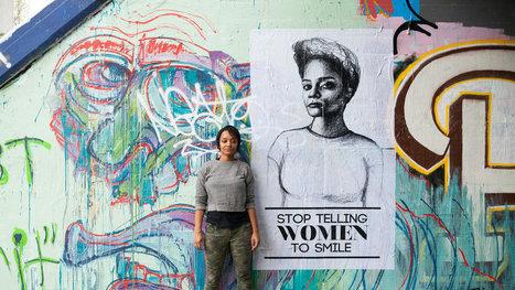 Tatyana Fazlalizadeh Takes Her Public Art Project to Georgia | Self Protection | Scoop.it