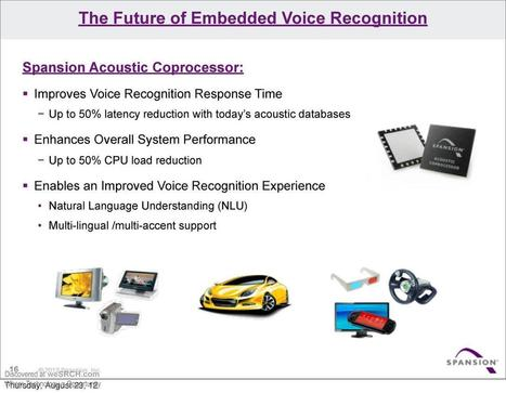 The Future of Embedded Voice Recognition - free slide submission, upload slide - weSRCH | wesrch | Scoop.it
