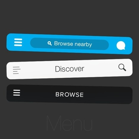 Why and How to avoid Hamburger Menus - by Luis Abreu | Front end web development | Scoop.it