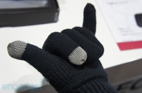 Hi-Fun's call-receiving Bluetooth gloves, hands-in (video) | scatol8® | Scoop.it