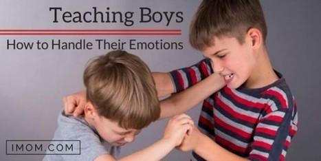 Boys and Anger: Teaching Boys How to Handle Their Emotions - iMom   MINDfull   Scoop.it