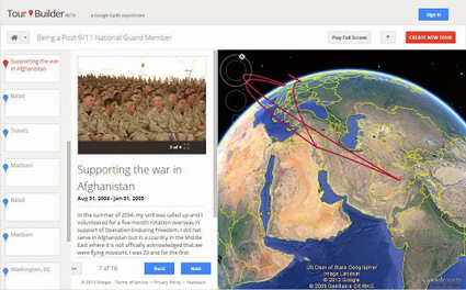 Google Lat Long: Tour Builder: Tell your stories with Google Earth | Google et le tourisme | Scoop.it