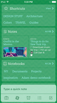 What's New in Evernote for iPhone, iPad, and iPod Touch | Evernote | PLNs for ALL | Scoop.it