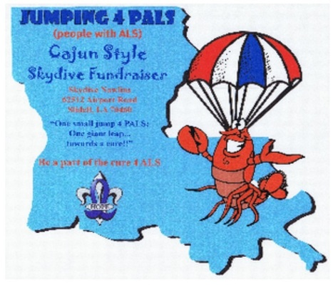 Jumping for PALS | 5th Annual Skydive Fundraiser - Skydive Nawlins | April 18,2015 | #ALS AWARENESS #LouGehrigsDisease #PARKINSONS | Scoop.it