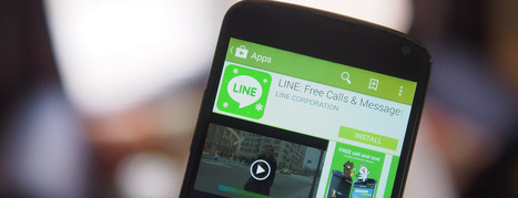 User-created stickers on Line have racked up $12 million in sales over the first three months | MarketingHits | Scoop.it