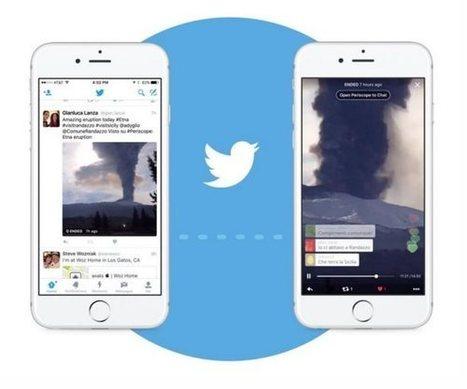 Twitter integra las transmisiones en directo de Periscope dentro de los tweets   SEO, SEM, Social Media y Herramientas Google   Scoop.it