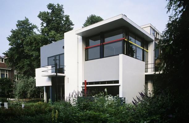 5 symboles de l 39 architecture moderne en animati. Black Bedroom Furniture Sets. Home Design Ideas