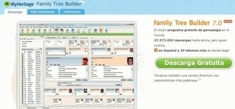 Nueva versión del creador de árboles genealógicos de MyHeritage | Recull diari | Scoop.it