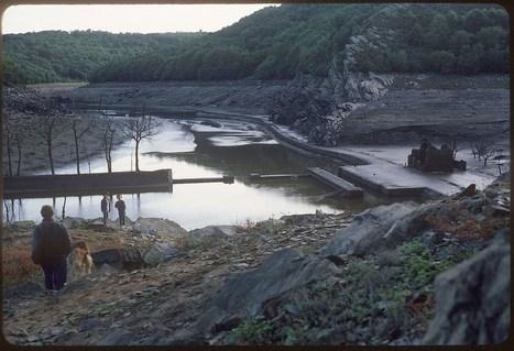 Barrage de Guerlédan. Des images exceptionnelles du lac à sec #Bretagne | photo en Bretagne - Finistère | Scoop.it