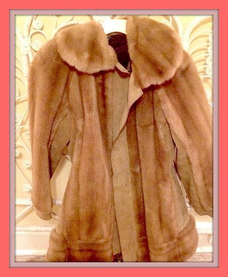 Half off Sale! Vintage Gypsy 1970s Lilli Ann San Francisco Faux Fur Coat L/XL | New Vintage Etsy Shop Valleyofthedollies | Scoop.it