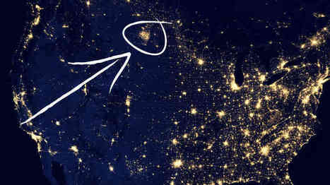 A Mysterious Patch Of Light | Geography Education | Scoop.it