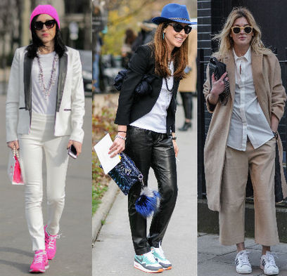 3 ways to make sneakers office-appropriate | latest fashion trends | Scoop.it