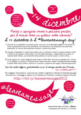 #leaveamessage, blogger per ilMeyer | RRezzo | Scoop.it