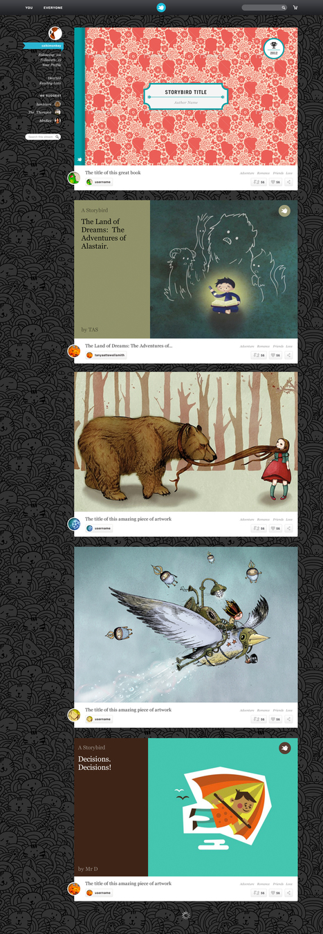 What? A new Storybird? — The Storybird blog | ESL- EFL and Art | Scoop.it