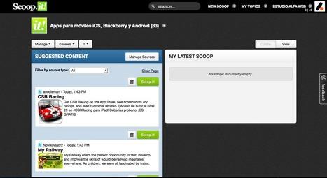 La mejor herramienta de Curación de contenidos (Content Curation) | Desarrollo web y marketing online | Scoop.it
