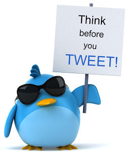 Think before you tweet ! | Cool Cat Teacher Blog | EDTECH - DIGITAL WORLDS - MEDIA LITERACY | Scoop.it