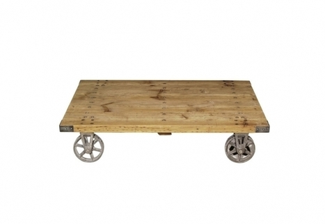 100 Salvage Coffee Table   Timothy Oulton   3D Product Design   Scoop.it