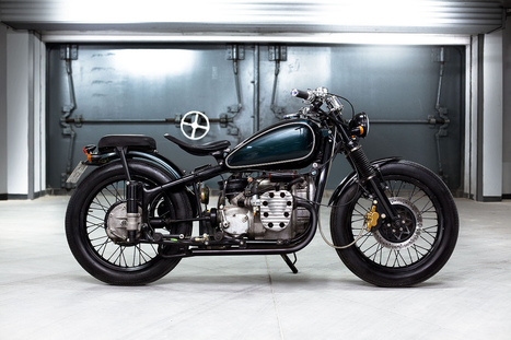 Chang Jiang motorcycle by Bandit9 - The Return of the Cafe Racers | Cafe Racers | Scoop.it