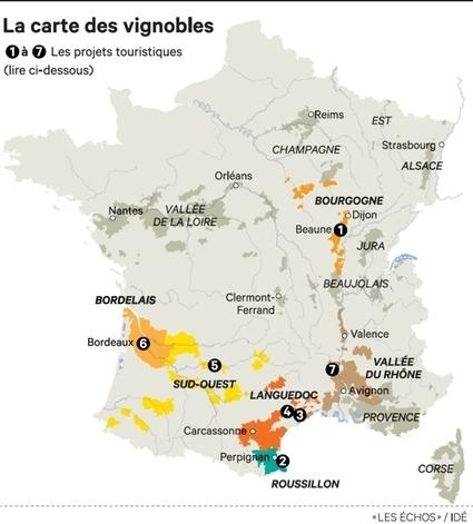 Les producteurs de vin investissent dans l'oenotourisme - Les Échos | Vin et agroécologie | Scoop.it