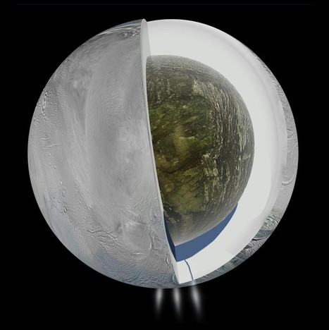 New report shows water on Saturn's moon - PBS NewsHour | Astromony | Scoop.it