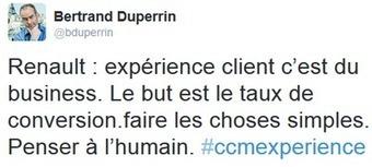 [Compte rendu] Expérience client 2015 #CCMExperience - Etourisme.info   AMD, OTSG   Scoop.it