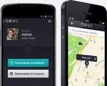 """VTC : Drive et son application de chauffeurs lève 2 millions d'euros   """"green business""""   Scoop.it"""