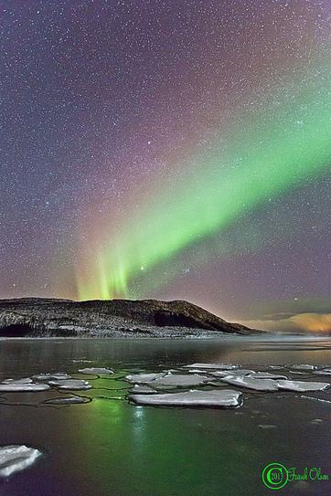 Frank Olsen : superbe galerie photo d'aurores boréales | Arctique et Antarctique | Scoop.it