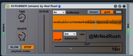 Free Max For Live - Scrubber 1.0 | Ableton | Scoop.it
