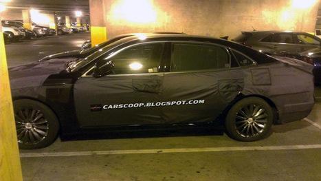 U Spy: Facelifted 2014 Hyundai Equus Luxury Sedan Spotted in California - Carscoop (blog) | Hyundai cars news reviews | Scoop.it