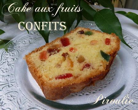 Cake Comment Faire Pour Que Les Fruits Ne Tombent Pas