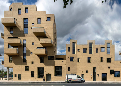 [Colindale , London UK] Peter Barber completes supermarket and housing complex | The Architecture of the City | Scoop.it