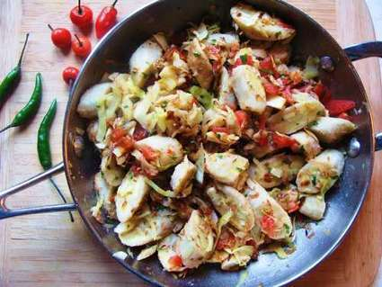 Green Figs With Cabbage and Saltfish | Health and Fitness | Scoop.it