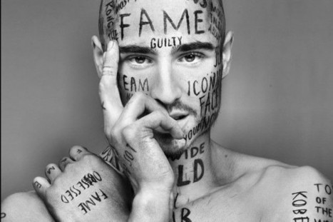 Male Model with 24 Words Tattooed on His Face Says He Wants to 'Make an Impact' | Strange days indeed... | Scoop.it