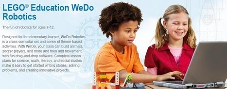 Kids can learn robotics easily with Lego WeDo | ROBOKIDS | Scoop.it