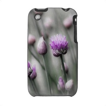 Purple Chive Flowers Apple® iPhone Case from Zazzle.com | Z Photography | Scoop.it
