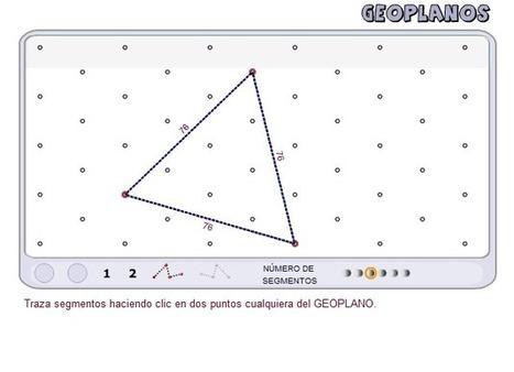 GEOPLANOS: Geometría Divertida ~ Juegos gratis y Software Educativo | Las TIC y la Educación | Scoop.it