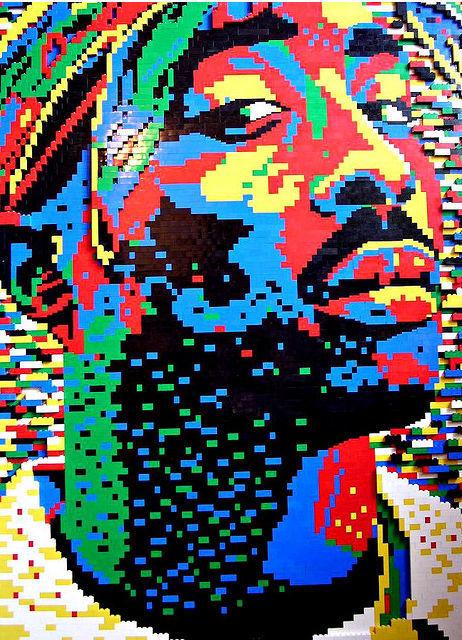 Tupac - Amazing LEGO Art! | Heron | Scoop.it