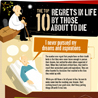 Top 10 Regrets in life | Infographics on the road | Scoop.it