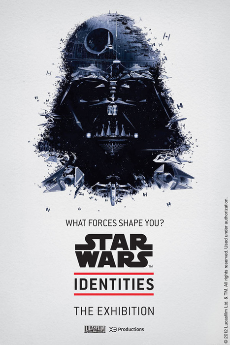 Bleublancrouge – Star Wars Identities Portraits | Star Wars, l'origine du Geek | Scoop.it