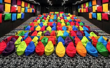 Une salle de cinéma spécialement conçue pour cocooner | les films, grand format ou pas | Scoop.it