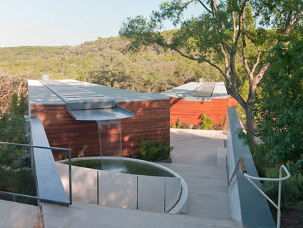 Cascading Creek House By Bercy Chen Studio | sustainable architecture | Scoop.it