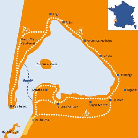 Séjours itinérants à vélo - Bassin Tour | Destination Bassin d'Arcachon | Scoop.it