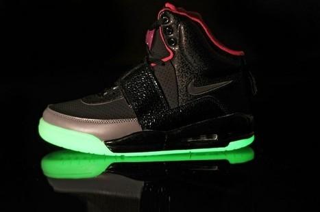 Nike Air Yeezy Glow In The Dark Black Pink Shoes Hot Sale Online | Cheap Glow In The Dark Air Yeezy | Scoop.it