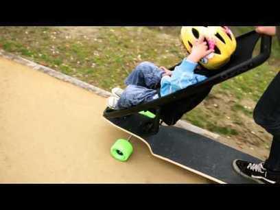 This Longboard Stroller Might Help You Fend Off Parental Lameness - Gizmodo Australia | Longboards Melbourne | Scoop.it