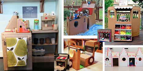 Une activité enfant artisanale - IdKid, blog activités manuelles | Activités manuelles | Scoop.it
