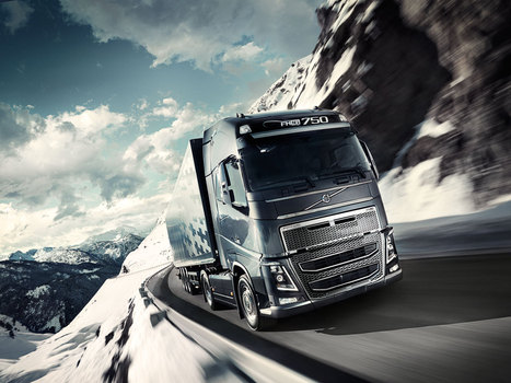 Volvo eco-driving tool helps truckers take their foot off the gas - Business Green | volvo | Scoop.it